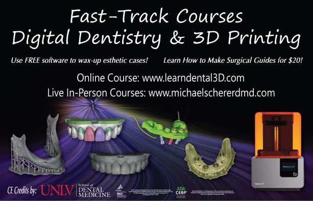 Digital Dentistry & 3D Printing - Online Course
