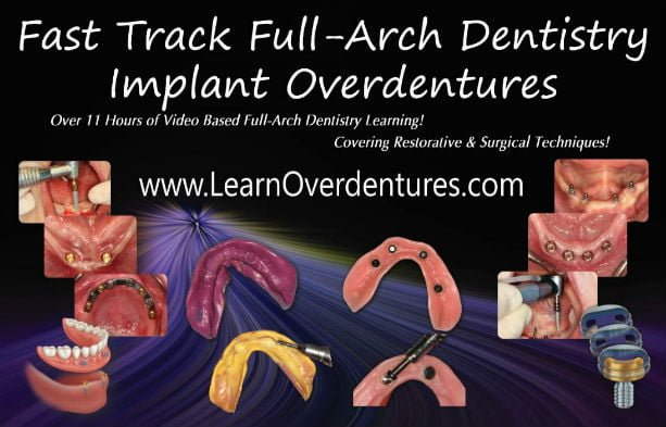 Implant Overdentures Online Course