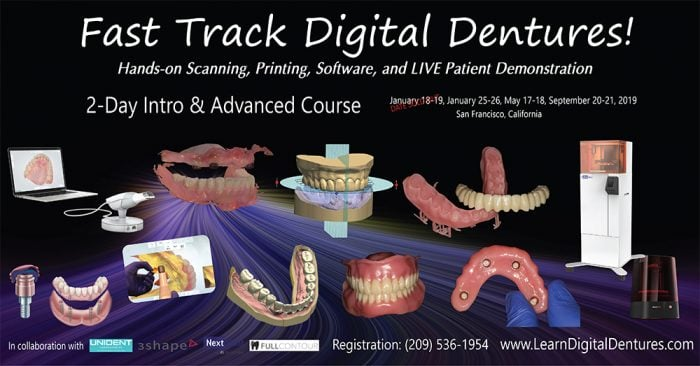 Fast Track Digital Dentures