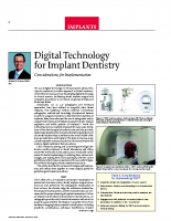 Digital Technology for Implant Dentistry
