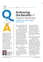 Embracing the benefits of digtial dentures – Dental Products Shopper Oct 2019
